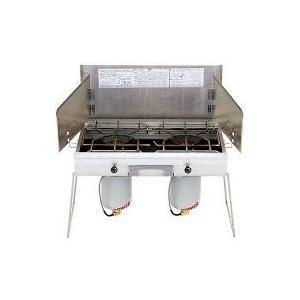 家のキッチンの安心感を、キャンプでも。気温の変化に影響されない液出し仕様で、安定した炎をキープ。火力...
