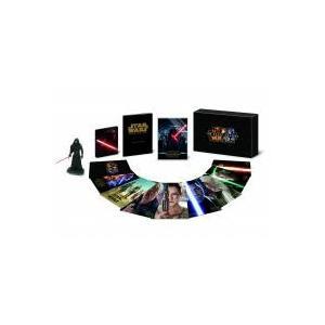 カイロ・レン&キャプテン・ファズマのアートによるスチールブック・ケース入りMovieNEXと、台座付...