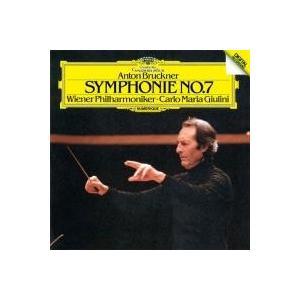ジュリーニがVPOとともに86年に録音したブルックナーの交響曲第7番。前年にBPOとのライヴ録音もあ...