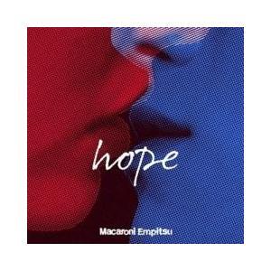 J-POP / 送料無料/ マカロニえんぴつ / hope 初回限定盤/(+DVD)CD