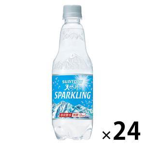 炭酸水・ソーダ 炭酸水/サントリーフーズ 南アルプス スパークリング 500ml 1箱 (24本入)