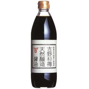 吉野杉樽天然醸造醤油 500ml 醤油・だししょうゆ