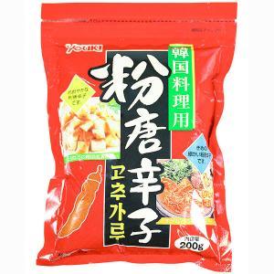 鮮やかな赤みとほのかな甘みの粉唐辛子です。韓国料理には欠かせません。鍋料理に少量入れてピリ辛チゲに…...