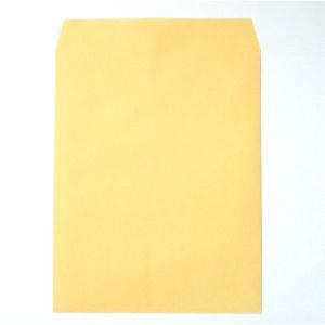 センター貼りのクラフト封筒。角形3号(角3)サイズで、B5用紙(大きめ)に対応した定形外封筒。テープ...