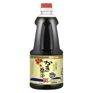 本醸造醤油にかつお・こんぶ・しいたけの合わせ出汁に広島県産の濃厚な牡蠣エキスを加えた万能だし醤油です...