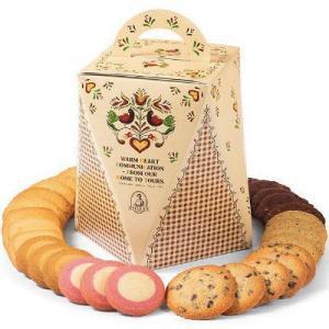 ステラおばさんで一番人気のチョコレートチップなど7種類30枚入りの詰め合わせ。すべて個包装になってお...