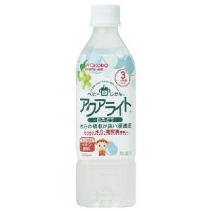 3ヵ月頃から/WAKODO 和光堂 ベビーのじかん アクアライト 白ぶどう 1セット(500ml×2...