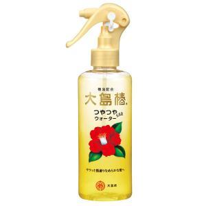 大島椿はツバキセラミド、椿油配合のスタイリング ヘアスプレー・ミストです。洗い流さないヘアトリートメ...