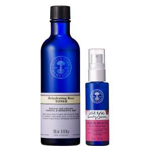 乾いた肌は、紫外線ダメージを受けやすいもの。ローズの潤いをたっぷりチャージする、ジェル美容液と導入化...