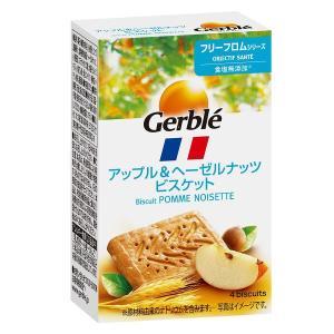 リンゴ本来のやさしくフルーティな甘さと、香り高いヘーゼルナッツが合わさった、甘さ控えめのビスケットで...