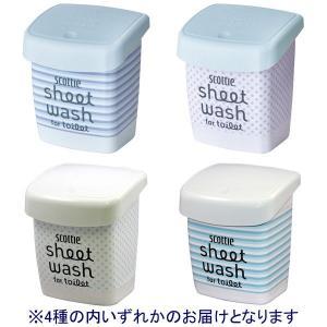 スコッティ シートウォッシュ for トイレット 本体 10枚入 トイレ用洗剤