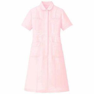 小さな衿、ウェストや袖口に入ったパイピングがかわいいワンピース。しっかりした国産生地使用です。 制電...