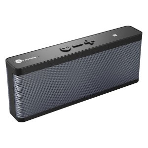 TaoTronics Bluetoothワイヤレススピーカー ブラック IPX4対応(防沫形)/出力...