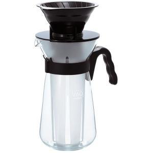 ドリップしながら氷で冷やす、急冷式アイスコーヒーメーカー。長いアイスストレーナーに氷を入れて、ドリッ...