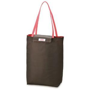 たためばバッグにすっぽり、コンパクトに折り畳める保冷ショッピングバッグ。平らな底(マチ付き)で食品を...