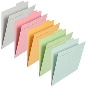 見出し(個別)で分類すれば必要な書類をサッと取り出せる。はさむだけの簡単ファイリング。寸法:縦(山の...