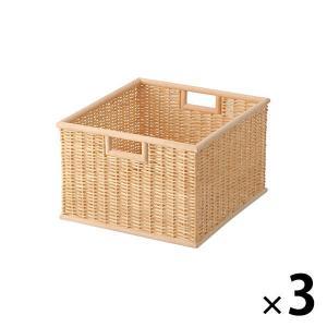 フィリピン産の良質のブリ材を手編みし、自然の風合いを生かしました。積み重ねてもお使いいただけます。 ...