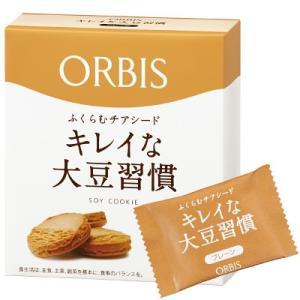 """美容成分たっぷりのチアシードと大豆を使用した""""食べ応え""""クッキーです。良質なタンパク質や鉄分など、豊..."""