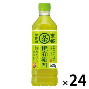 サントリー伊右衛門は、、京都の老舗茶舗「福寿園」の茶匠が厳選した国産茶葉を100%使用した本格緑茶で...