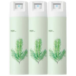 天然トドマツ抽出成分を配合した消臭芳香剤のミストタイプスプレー。リラックス効果のある森林浴成分を配合...