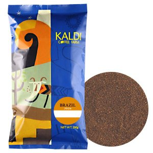 コーヒー大国ブラジル。ソフトでバランスよく、カカオを思わせる甘い香りが特徴。 カルディコーヒーファー...