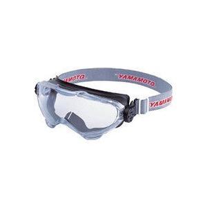 一眼型保護 マスク併用 スワン 浮遊粉塵用セーフティゴグル YG6000BK 1個 324-1963...