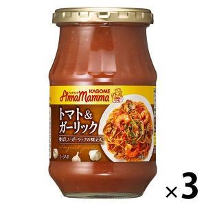 アンナマンマトマト&ガーリック 1セット(3個入) パスタソース