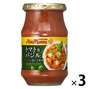 アンナマンマトマト&バジル 1セット(3個入) パスタソース