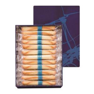 バターをふんだんに使用した生地を焼き上げ、葉巻状に巻いたクッキーです。 バターをふんだんに使用した生...