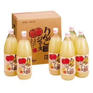 日本一のりんご生産地、青森県産のみを使用。まるごと搾ったストレート100%りんご果汁です。余分な添加...