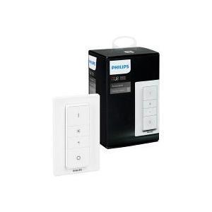 Hueのディマースイッチを使えば、お気に入りの照明設定をスムーズに調整することができます。 通常の壁...