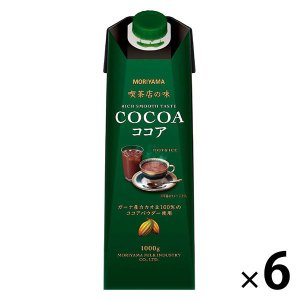 喫茶店の味 ココア 1000g 1箱(6本入) ココア(加糖)