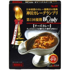神田カレーグランプリ 欧風カレーボンディ チーズカレー お店の中辛 1個 レトルトカレー