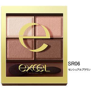 サナ excel(エクセル) スキニーリッチシャドウ SR06(センシュアルブラウン) 常盤薬品工業...