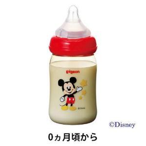 母乳実感哺乳びん プラスチック ミッキー 160ml 1本 授乳グッズ
