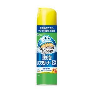 エアゾールだから浴室の床・壁もラクラク・簡単にお掃除ができる きめ細やかな泡が汚れに浸透し、石鹸カス...