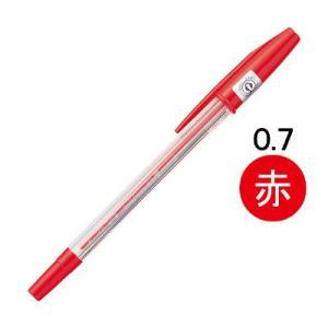 三菱鉛筆のロングセラーの事務用油性ボールペン。ステンレスチップを採用したキャップ式の赤インク。描線幅...