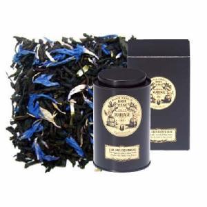青いブルーエの花が美しい、フレンチタッチのアールグレイ、アールグレイ フレンチブルー。 青いブルーエ...