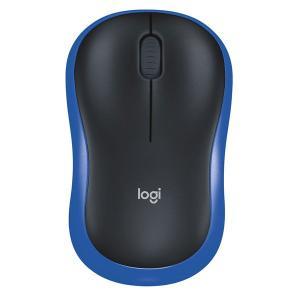 ロジクール(Logicool) 無線(ワイヤレス)マウス WirelessMouse M186 ブル...