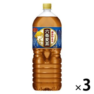 六条麦茶2.0L 1セット(3本) 麦茶(ペットボトル)