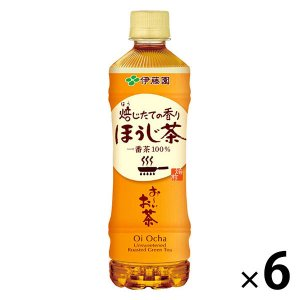 おーいお茶 ほうじ茶 525ml 1セット(6本) ほうじ茶(ペットボトル)