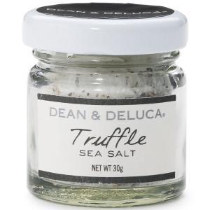 新鮮な黒トリュフの香りがしっかり感じられる塩。ビーフステーキ、温野菜、天ぷらのふり塩に。 ディーン&...