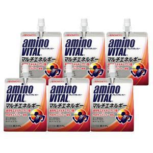 アミノバイタルゼリー マルチエネルギー 180g 6個 1セット 味の素 アミノ酸ゼリー アミノ酸 ...