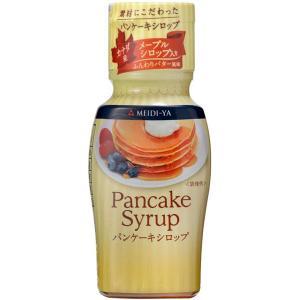 カナダ産メープルシロップ入りの上品な味わいのシロップ。コクのあるバターの風味が味わい深いシロップです...