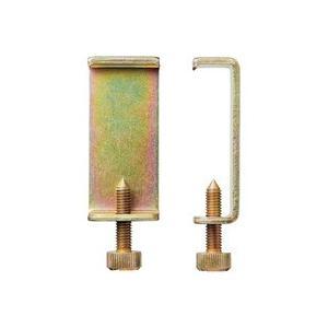 ボックスを横置きするときに使う、転倒防止用の金具です。これを使うと、横置きで5段まで積み重ねられます...