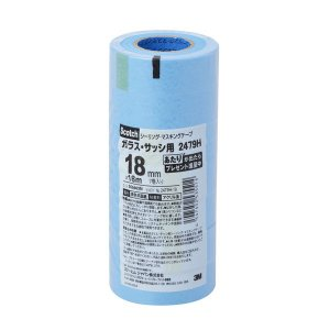 ガラス・サッシ用マスキングテープです。シーリング防水作業時のプライマーの塗布、シーリング材の充てん及...