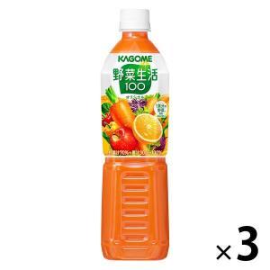 野菜生活100オリジナル スマートPET 720ml 1セット(3本) 野菜ジュース/ 野菜ジュース