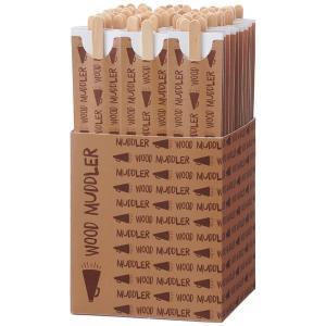 箱のまま置いて使えるアスクル限定販売の木製のコーヒーマドラー。1本づつ小袋に包装されて衛生的です。 ...