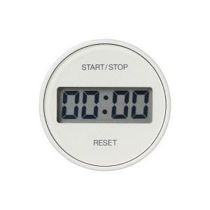 液晶表示が大きく、視認性の高いキッチンタイマーです。ダイヤルを回転させて簡単に時間設定が可能です。リ...