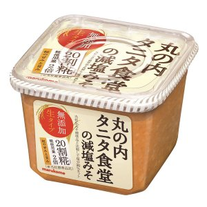 丸の内タニタ食堂で実際に使用されているおみそ。減塩みそですが、通常よりも高い麹割合(20割)で、甘み...